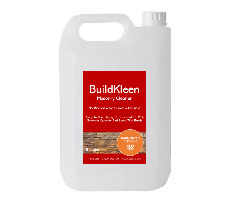 Exterior building cleaner