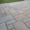 Cleaned Sandstone Patio
