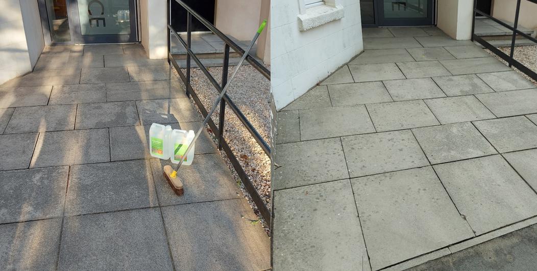 Concrete Slab Cleaner