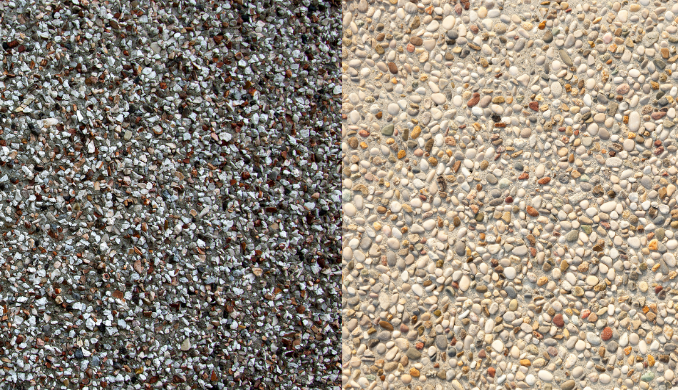 Cleaning Pebble Dash