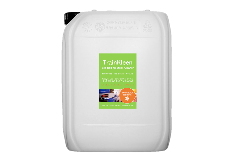 Exterior Cleaner For Trains
